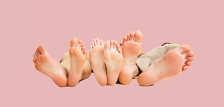 Kontakt Füße